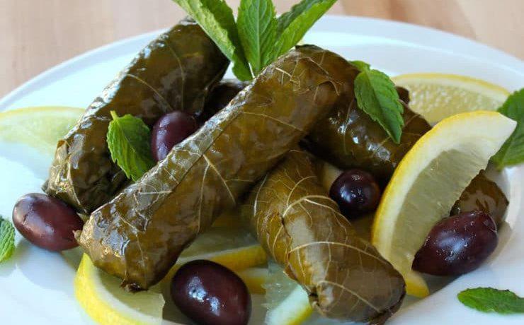 Cucina curda, come piegare una foglia