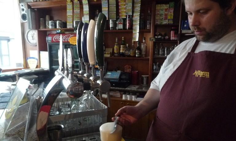 Come si spilla una birra?